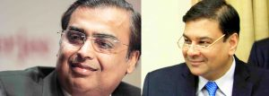 FaceOff: Urjit Patel and Mukesh Ambani presenting different facial features to hide the fact that they are actually twins.